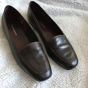 Enzo Angiolini All Leather Loafers- Flats